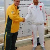 Lleyton Hewitt and Zhang Ze: Tennis Australia