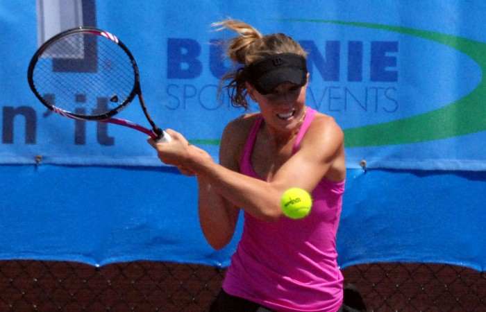 Olivia Rogowska, Burnie International. Dale Wylie