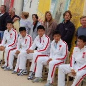 Chinese Davis Cup team at Ocean Grove: Tennis Australia