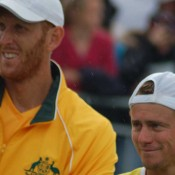 Chris Guccione and Lleyton Hewitt seal the Davis Cup for Australia in Geelong: Kim Trengove