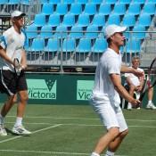 Chris Guccione and Lleyton Hewitt: Tennis Australia