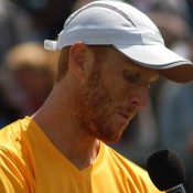 Chris Guccione post match interview at the Geelong Davis Cup tie against China: Kim Trengove