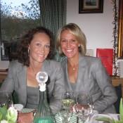 Sam Stosur (L) and Nicole Bradtke; Tennis Australia