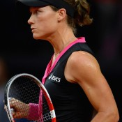 A picture of intensity, Stosur was the more aggressive and mentally tough against Kerber, coming through in two tight sets; Getty Images