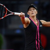 Sam Stosur in action against Andrea Petkovic; Getty Images