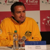 Australian captain David Taylor; Tennis Australia