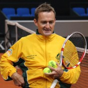 Fed Cup captain David Taylor; Tennis Australia
