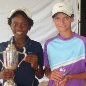 Benard Nkomba (left) and Kody Pearson (right)