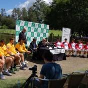 Davis Cup Official draw between Australia and Korea.Kim Trengove/Tennis Australia