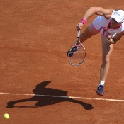 In the first match of the 2012 tournament on Court Philippe Chatrier, Aussie Sam Stosur kicked off her French Open campaign with a stylish 6-4 6-0 victory over Brit Elena Baltacha; Getty Images