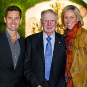 19th of January 2012. Todd Woodbridge, Frank Sedgman and Nicole Bradkte at Madame Brussels for the Wimbledon 2012 preview.