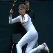 No.1: Yes, that's a onesie, body stocking, body suit – whatever you want to call it. Anne White's controversial bodysuit, perhaps more suited to athletics or swimming than tennis, was, not surprisingly, banned.