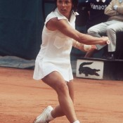 BILLIE JEAN KING: WON 1972 ROLAND GARROS, 1972 WIMBLEDON, 1972 US OPEN; did not play 1973 AUSTRALIAN OPEN – In an era when many of the top players skipped the Australian Open because of its inconvenient Christmas/New Year slot on the calendar, American great Billie Jean King robbed herself of the opportunity to simultaneously hold all four major crowns when she chose not to make the trip to Melbourne in December 1972. She had enjoyed a stellar season prior to that (pictured during her winning fortnight at Roland Garros) and would go on to even bigger things in 1973, including her pioneering role in founding the Women's Tennis Association; Getty Images