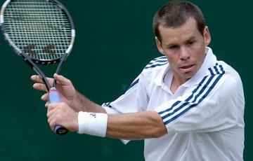 Scott Draper, Wimbledon, 2002. GETTY IMAGES
