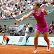 The upsets kept on coming in the third round, with Italian 21st seed Sara Errani recovering from the loss of the first set to finally defeat the more fancied Ana Ivanovic, seeded 13th; Getty Images