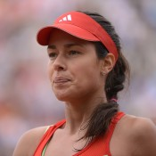 Ana Ivanovic could not stop her third round match against Sara Errani slipping away despite winning the first set, the former Roland Garros champion sent packing from the 2012 event; Getty Images