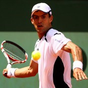 Colombian Santiago contributed to a disappointing result for Australia, upending No.25 seed and Aussie men's No.1 Bernard Tomic in straight sets in the second round of the French Open; Getty Images
