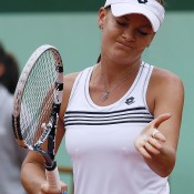 Highly fancied before the tournament began, third seed Agnieszka Radwanska was simply blown off Court Philippe Chatrier by 2009 French Open winner Svetlana Kuznetsova in the third round; Getty Images