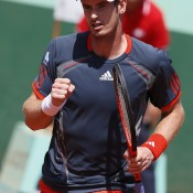 Andy Murray's outfits have become increasingly stylish and well-fitted as his career has progressed, and at this year's French Open it's no different, with the Scot appropriately donning the French tricolour in his adidas outfit during his matches at Roland Garros; Getty Images