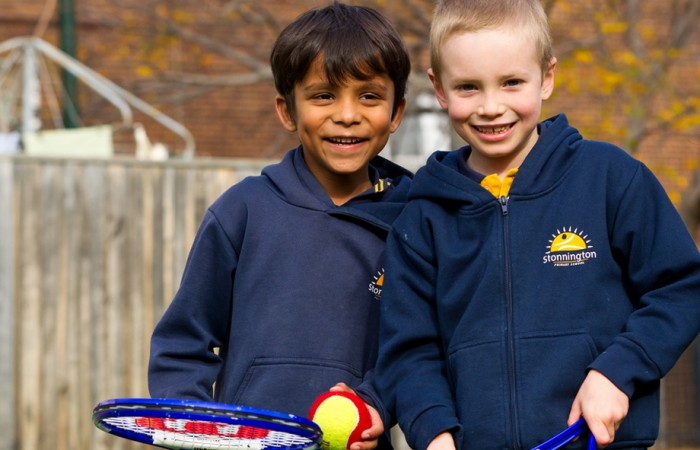 MLC Tennis Hot Shots at Stonnington Primary School, 2012. MARK RIEDY