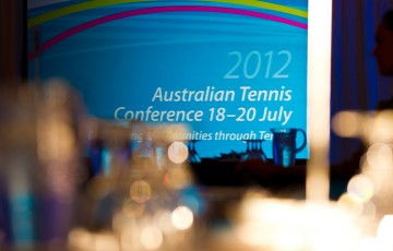 19th of July 2012. The 2012 Australian Tennis Conference. Tennis Australia.