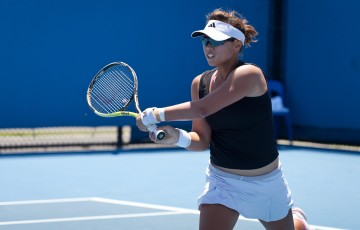08 December 2011. Alison Bai at the Australian Open 2012 Playoff. Tom Ross