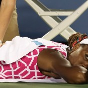 It was great to see Venus Williams back to near her best in Cincinnati, a semifinal appearance being her best result since reaching the same stage at the 2010 US Open. The run came at a price however - after winning through three gruelling three-setters in four matches, her back seized up during her semifinal loss to Li Na, a match that also extended to three; Getty Images