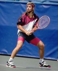 Andre Agassi. GETTY IMAGES