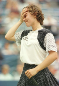 Martina Hingis. GETTY IMAGES