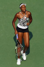 Venus Williams. GETTY IMAGES