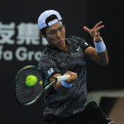 Duckhee Lee at the Australian Open Asia-Pacific Wildcard Play-off.