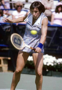 Martina Navratilova. GETTY IMAGES
