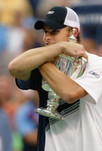 Andy Roddick. GETTY IMAGES