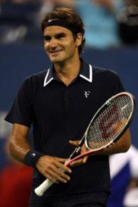 Roger Federer. GETTY IMAGES
