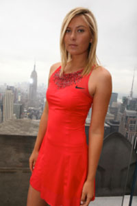 Maria Sharapova. GETTY IMAGES