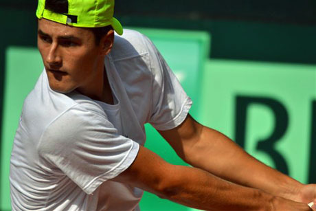Bernard Tomic, Hamburg, Germany. TENNIS AUSTRALIA