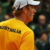 Chris Guccione, Hamburg, Davis Cup, 2012. TENNIS AUSTRALIA