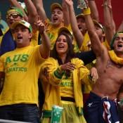 The Fanatics in full voice at Hamburg's Rothenbaum Stadium. TENNIS AUSTRALIA