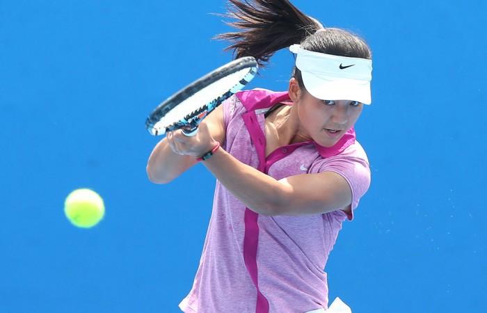 Wushuang Zheng of China; Getty Images