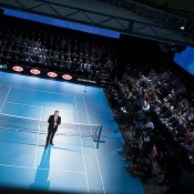 Australian Open tournament director Craig Tiley at the Australian Open 2013 Launch event at Melbourne Park on 2 October 2012; Tennis Australia