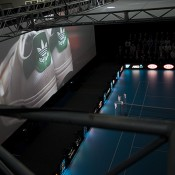On-screen images as part of the Australian Open 2013 Launch at Melbourne Park; Tennis Australia