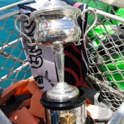 The Daphne Akhurst Memorial Cup aboard the Quicksilver high-speed wave-piercing catamaran on a tour of the Great Barrier Reef; Tennis Australia