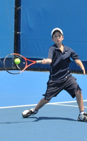 12 December 2011. Optus 12s Australian Championships. Michael Roche.