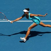 Kai-Chen Chang is the top seed in the women's singles at the Asia-Pacific Australian Open Wildcard play-off; Getty Images