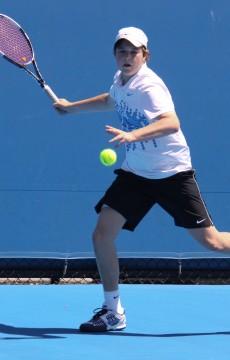 2 December 2011.  Optus 14s Australian Championship.  Iain Morton