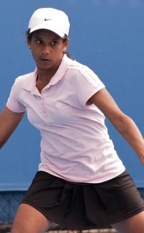 12th of December 2011. Optus 12s Australian Championships. Mae Dumrigue