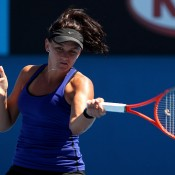 After falling to Bojana Jovanovski in her first match of the season in Brisbane, Casey Dellacqua turned the tables on the Serb during Day 1 of Australian Open 2012 at Melbourne Park, winning through to the second round thanks to a 6-3 6-2 victory; Getty Images