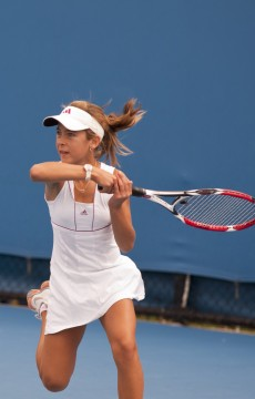 14th of December 2011. Optus 12s Australian Championships. Mae Dumrigue