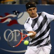 Matosevic lead Cilic by two-sets-to-love before the 12th seed narrowly avoided a stunning upset, recovering to win 5-7 2-6 4-6 2-6 4-6 and moving into the second round at the US Open; Getty Images