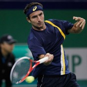 Matosevic enjoyed solid performances post-US Open, winning five matches and cracking the top 50 for the first time in his career. Here he is in action at the Shanghai Rolex Masters against then 14th-ranked Milos Raonic, pushing the rising Canadian all the way in a 7-6(4) 6-3 defeat; Getty Images